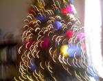 how a christmas tree looks to a three-year-old